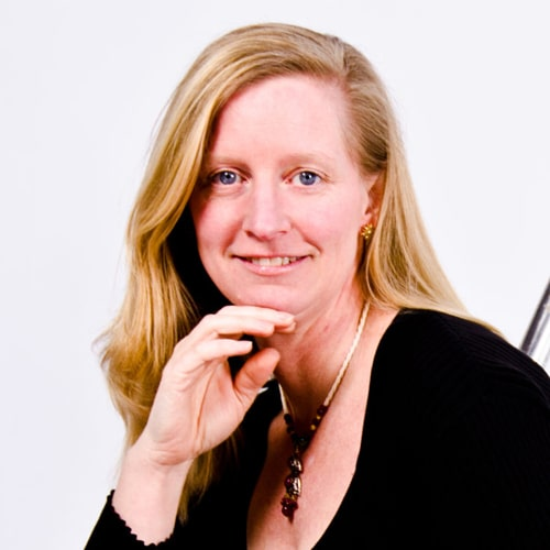 Headshot of Whitby BIA board member Alison Galvan