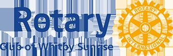 Rotary Club of Whitby Sunrise Logo